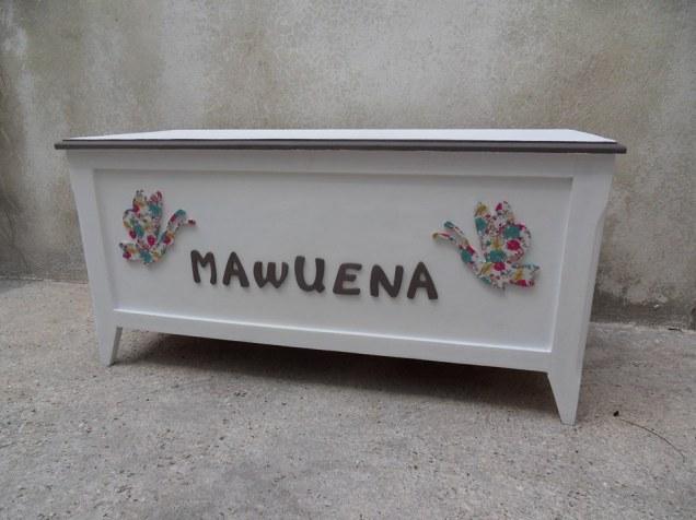 Coffre à jouet Mawuena