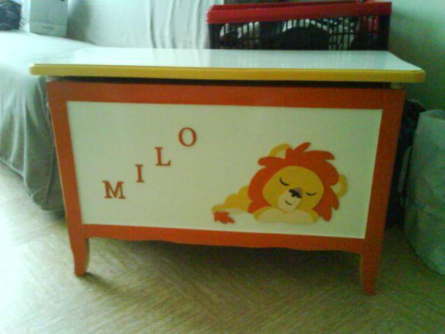 coffre à jouet milo