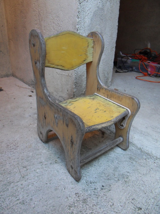 Chaise avant rénovation