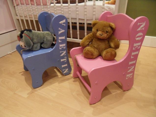 Chaises après rénovation