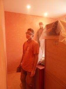 chambre orange