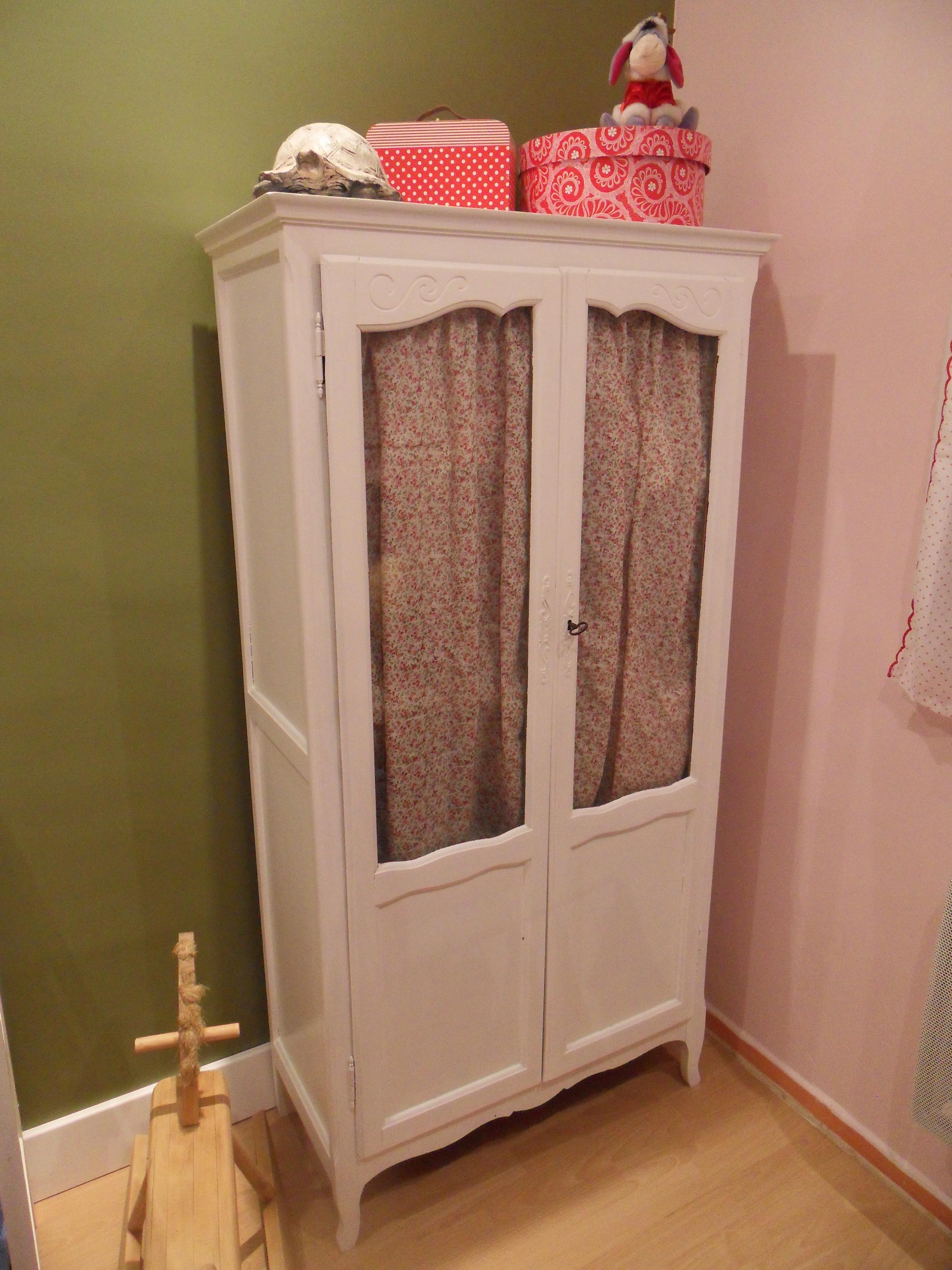 Relooking d une armoire elise l 39 a fait - Relooking armoire ...